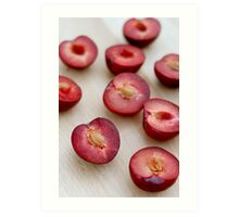 Plums II Art Print