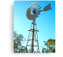Looking up at the Wonderful Windmill.... old southern cross. Canvas Print