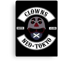 The Clown Motorcycle Club - Neo Tokyo (Akira) Canvas Print