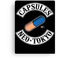 Neo Tokyo Capsules (Akira) Canvas Print