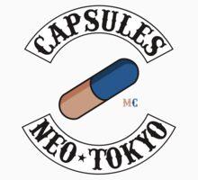 Neo Tokyo Capsules (Akira) Baby Tee