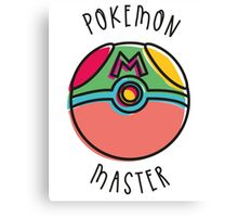 POKEMON MASTER Canvas Print