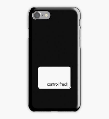 control freak iPhone Case/Skin