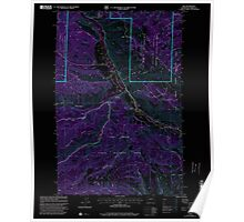 USGS Topo Map Washington State WA Nile 242823 2000 24000 Inverted Poster