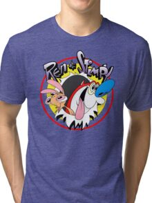 Ren & Stimpy Tri-blend T-Shirt