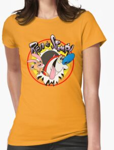 Ren & Stimpy Womens Fitted T-Shirt