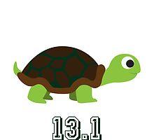 Cute Turtle 13.1 (half marathon) by Eggtooth