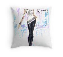 Rockin' The Runway Throw Pillow