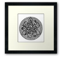 The Witch's Circle Framed Print