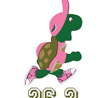 26.2 Turtle Runner in Pink by Eggtooth