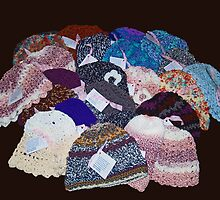 Crocheted Hats for Cancer Patients by BCallahan