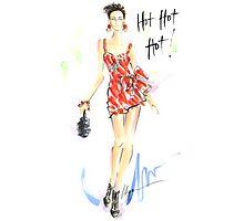 Hot Hot Hot! Photographic Print