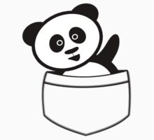 Pocket panda Kids Tee
