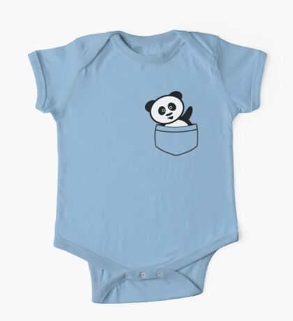 Pocket panda One Piece - Short Sleeve