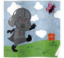 Star Wars baby - inspired by Darth Vader Poster