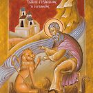 St Gerasimos of the Jordan by ikonographics