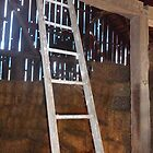 Barn Ladder by Melissa McKenzie