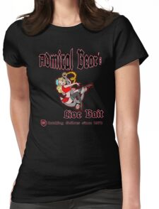 Admiral Bear´s Live Bait Womens Fitted T-Shirt