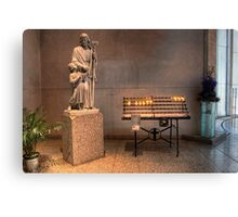 Votive Candles • Cathedral of St Stephen • Brisbane • Australia Canvas Print
