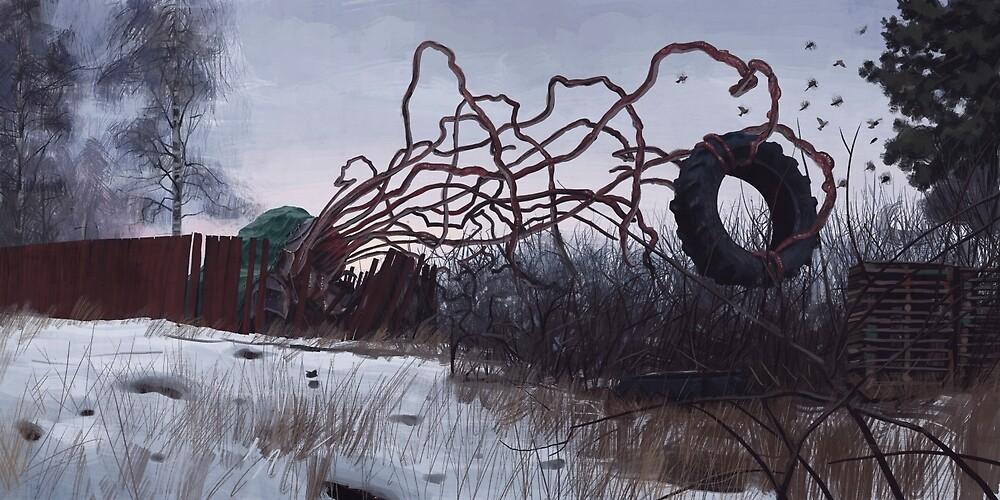 Rattle by Simon Stålenhag
