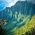Kalalau Peaks by bodhikaiimagery