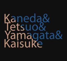 The Capsules Helvetica (Akira) Kids Tee