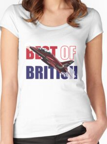 Best of British Women's Fitted Scoop T-Shirt