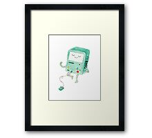 Let's Play Video Games Framed Print