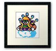 cloud man Framed Print