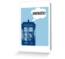 """FANTASTIC!"" - 9th Doctor Greeting Card"