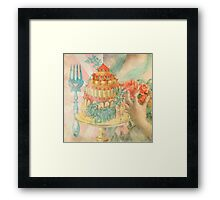 Let Them Eat Cake Framed Print