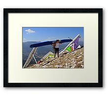 Bearing the Weight Framed Print