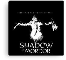 Shadow of Mordor by Kevarsim Canvas Print