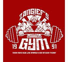 Zangief's Gym  Photographic Print