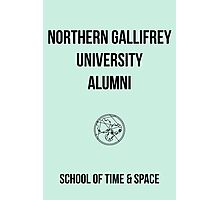 NORTHERN GALLIFREY UNIVERSITY ALUMNI Photographic Print