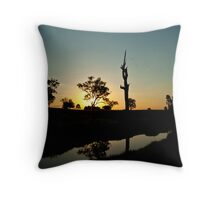 australiana twilight #1 Throw Pillow