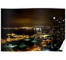 Night Landscape San Diego Part 1 Poster