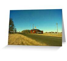 Barleyfields Crossing Greeting Card