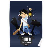 Girl Adventurer Poster
