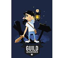 Girl Adventurer Photographic Print