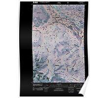USGS Topo Map Washington State WA Mazama 20110427 TM Inverted Poster