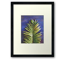 Woodland Fern Framed Print