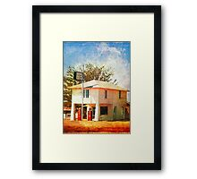 The original Lucille's Roadhouse Framed Print