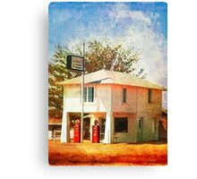 The original Lucille's Roadhouse Canvas Print