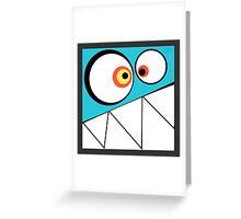 Munstor (TIKI) Greeting Card