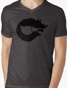 The Fox And Chicken. Mens V-Neck T-Shirt