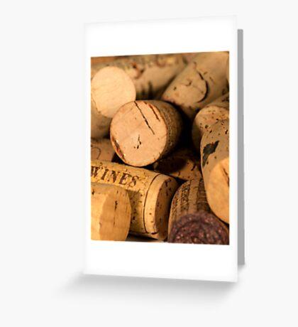 Cork jumble Greeting Card