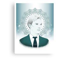 Benedict Cumberbatch - Ocean Green Canvas Print