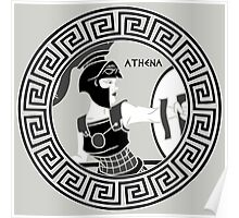 Athena- Goddess of Wisdom and War Poster