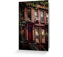 Upper east side Greeting Card